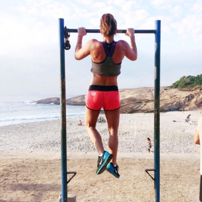 pullups with a view