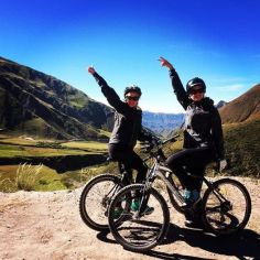 Andes Challenge mountain bike!