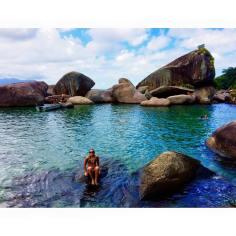 The rockpools of Trinidade