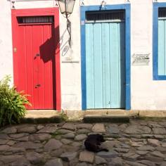the doors of Paraty