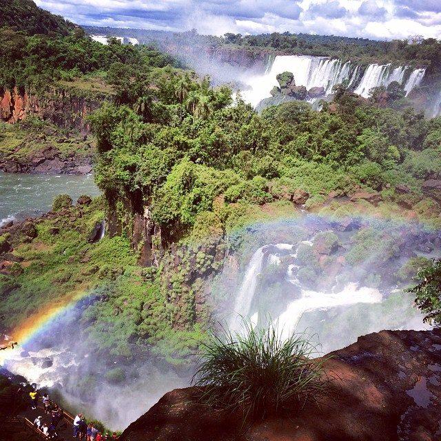 Falling for Iguasu