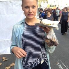 German sandwich chocolate combo. Uh oh