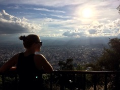 Worth the hike. On top of Salta