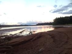 Sunset bliss on the Amazon