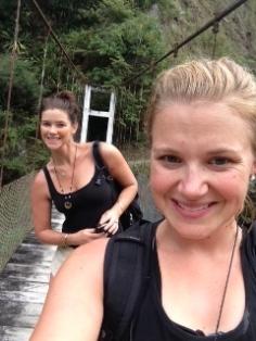 Bridge selfies