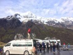the start of 70k biking..