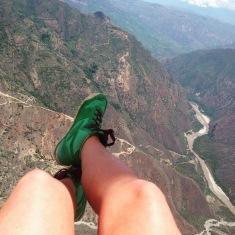 Paragliding, San Gil.