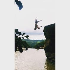 Cliff jumps, San Gil