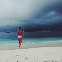 Stormy mornings in San Blas