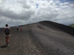 THE volcano hike